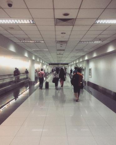 Arriving in Ninoy Aquino International Airport T3.