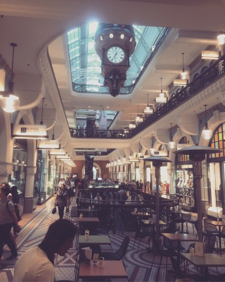 Queen Victoria Building interior