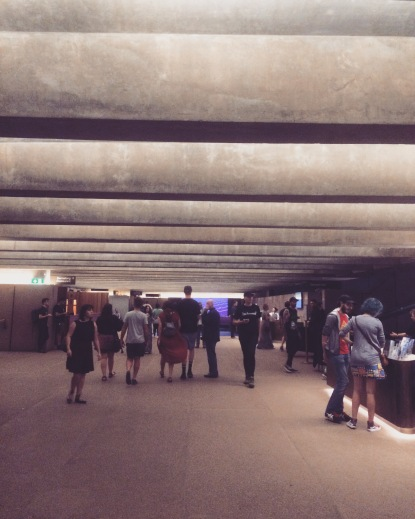 Sydney Opera House interior. 'twas a busy night with shows in all theaters.