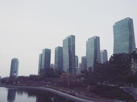 Songdo skyline