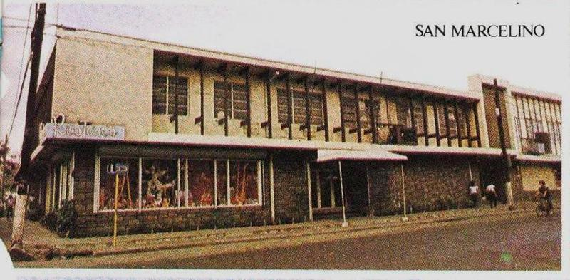 The first Rustan's store -- San Marcelino