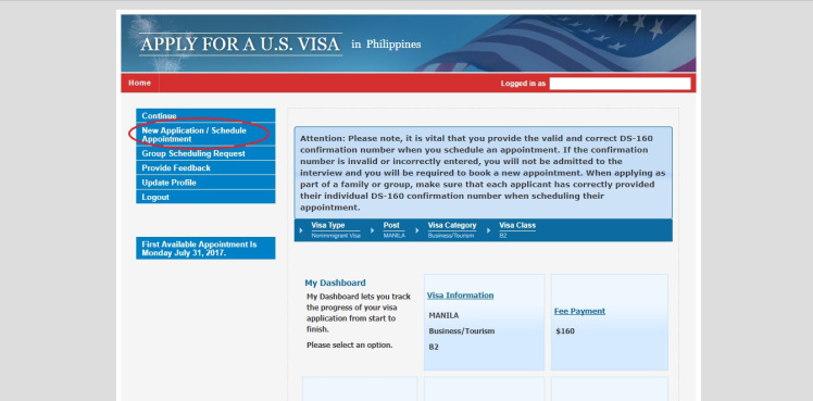 visa-application-new-appointment